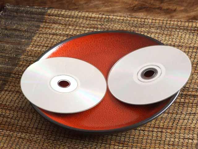 赤絵あけぼの丸大皿