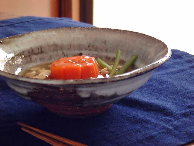萩焼白浅小鉢