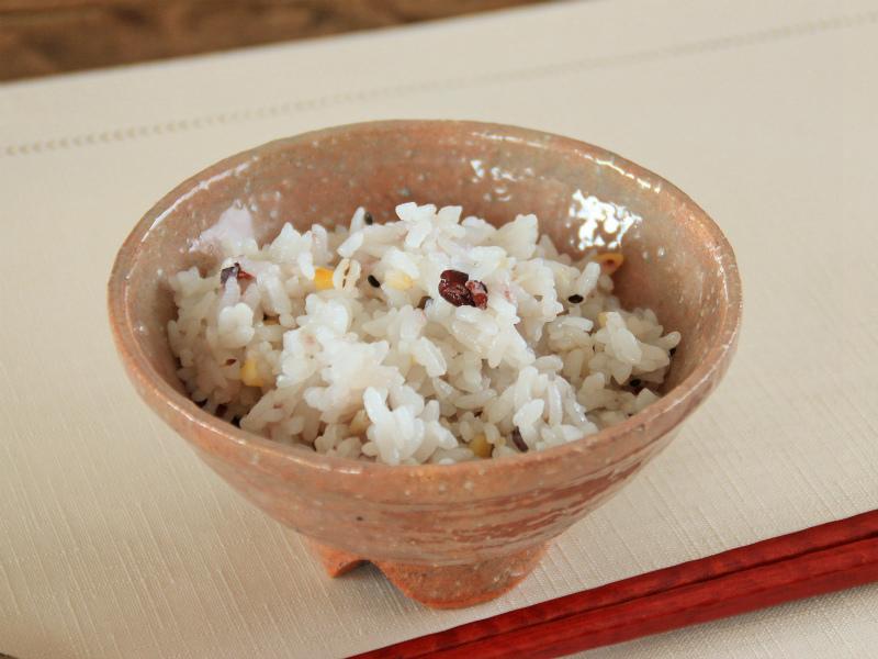 萩焼窯変飯碗