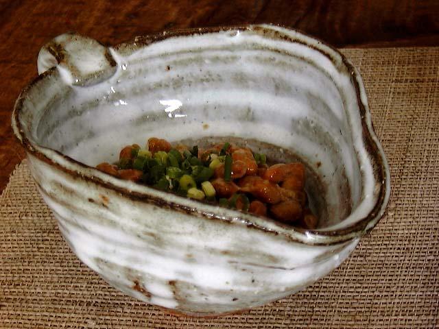 萩焼納豆鉢