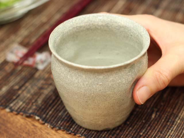 古唐津粉引フリーカップ