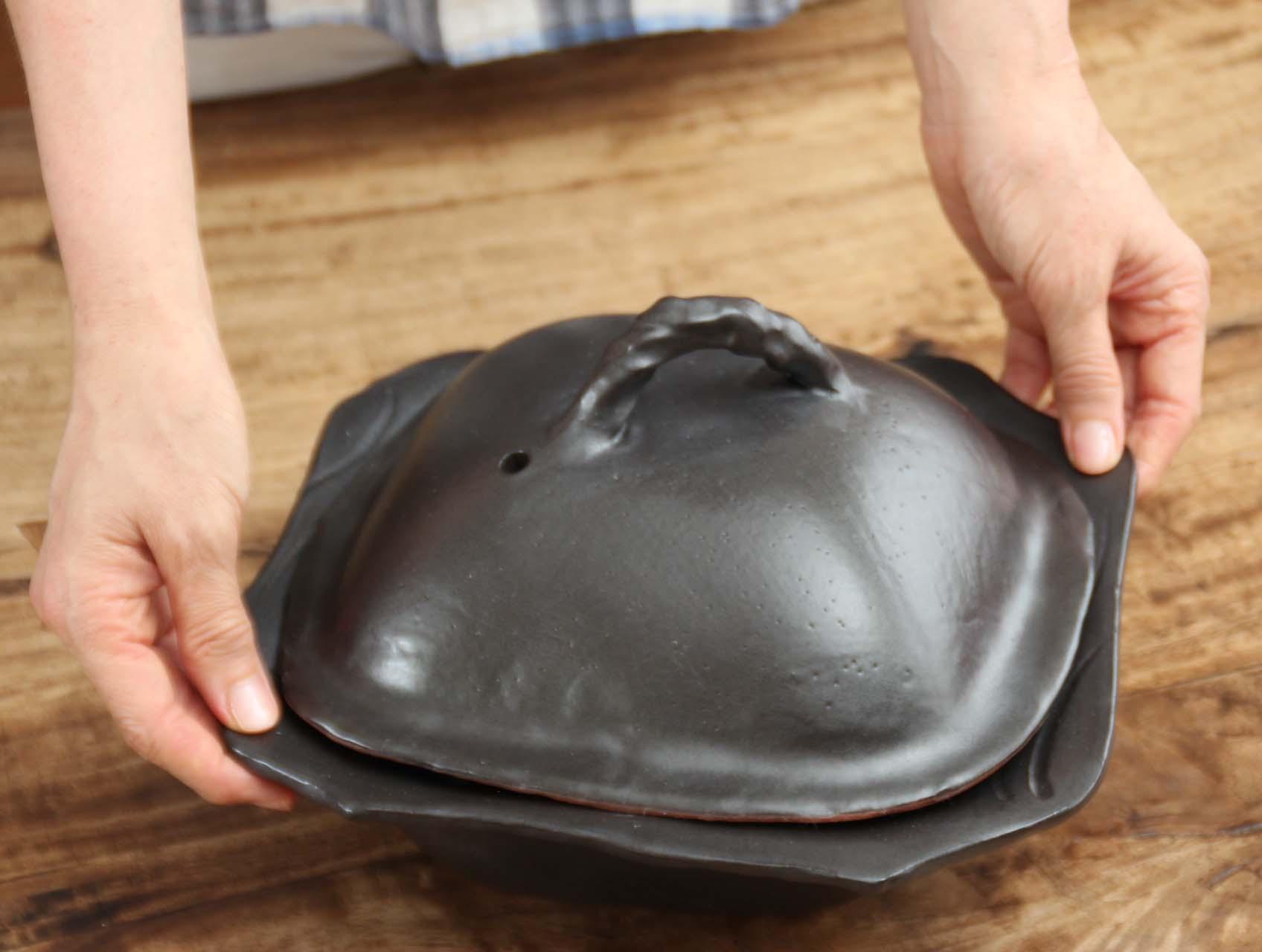 黒土鍋(小)