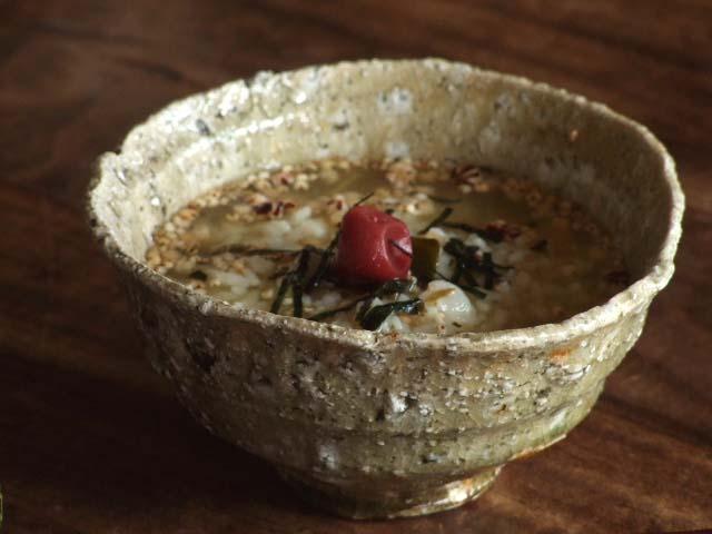 村越琢磨の木灰釉茶碗