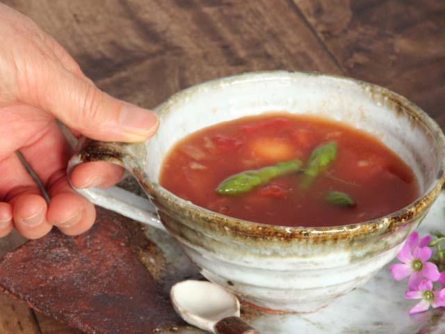 萩焼オリジナルマグカップ(山型)